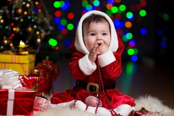 Дед Мороз и дети 6