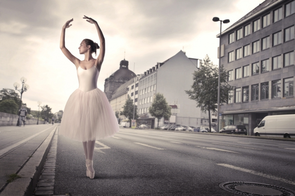 фотографии балерины у станка