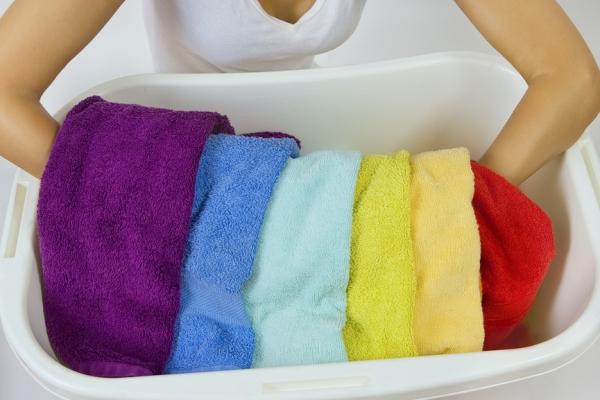 Как отстирать банные полотенца в домашних условиях