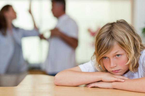Как ребенку сказать о разводе