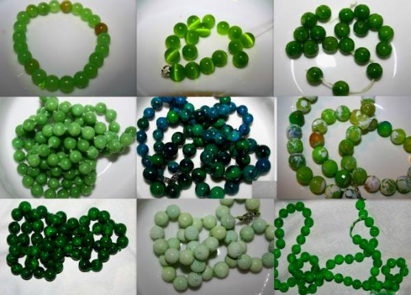 Зеленый камень для поделок 85