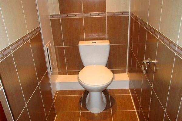 Ремонт в туалете комнате