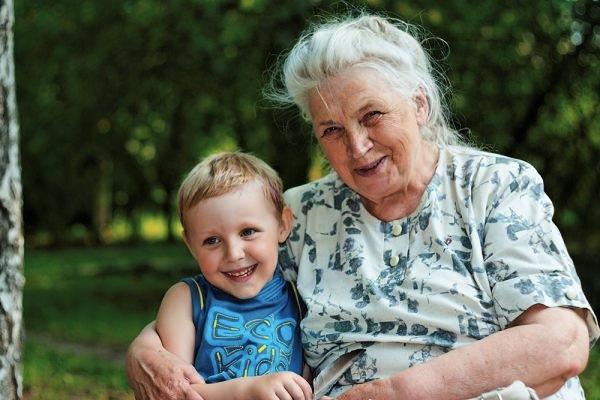 Бабушке захотелось внука