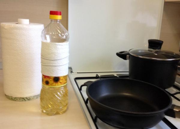 как убрать жир снизу