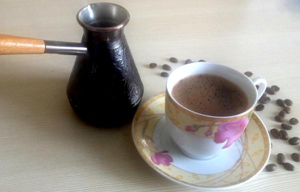 Как сделать вкусный кофе на турке 114