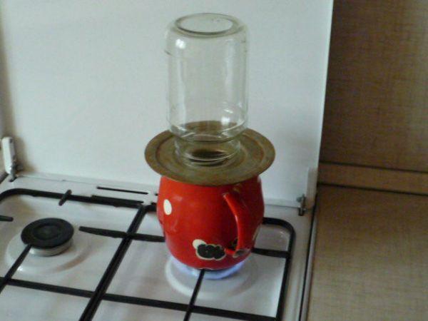 Стерилизатор банок для консервирования своими руками