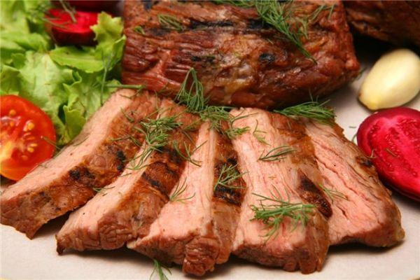 Блюда из мяса крупным куском