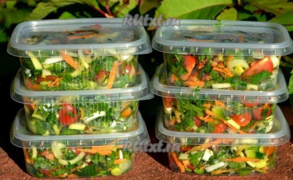 Заморозка овощей в домашних условиях